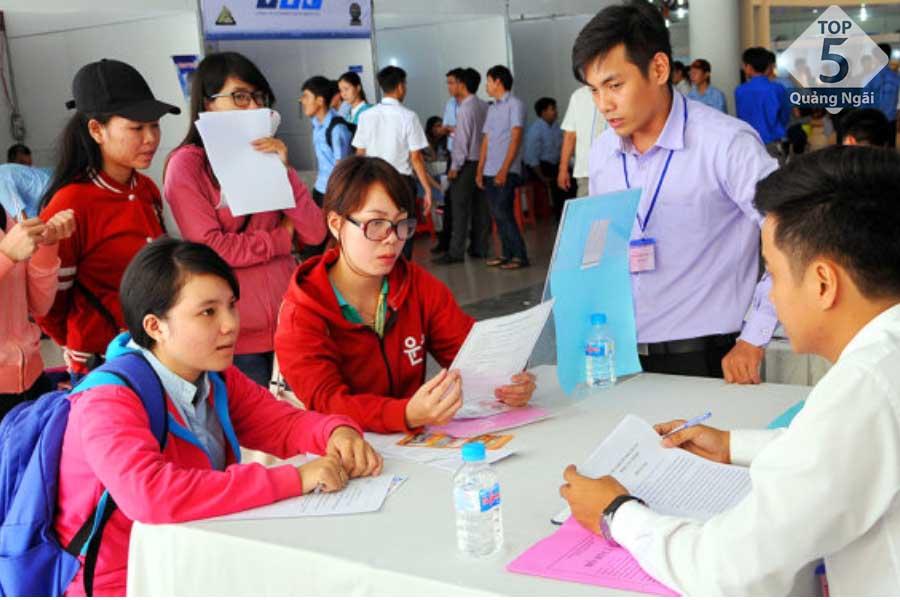 Top 5 việc làm Quảng Ngãi 24h tuyển dụng nhanh nhất