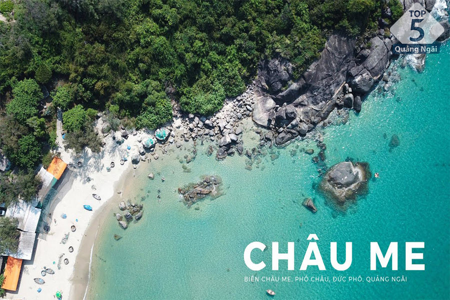 Top 5 địa điểm du lịch hiển thị trên bản đồ du lịch Quảng Ngãi