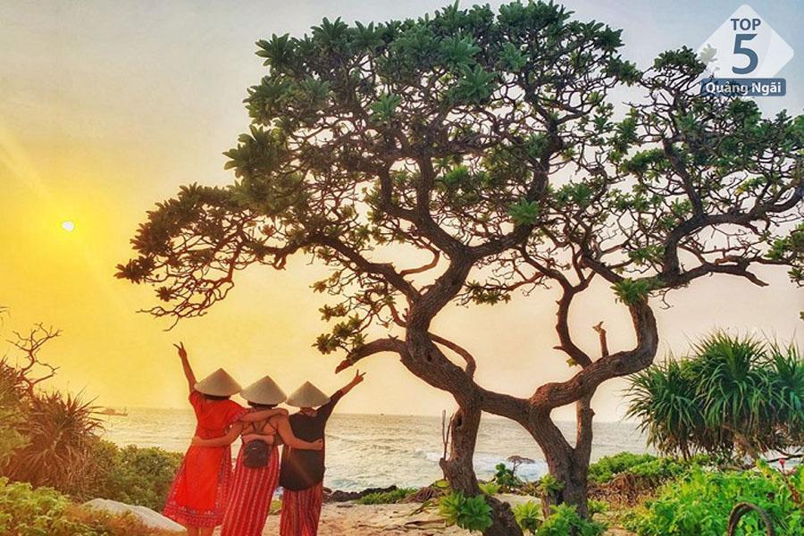 Bình minh trên Đảo Bé_Lý Sơn