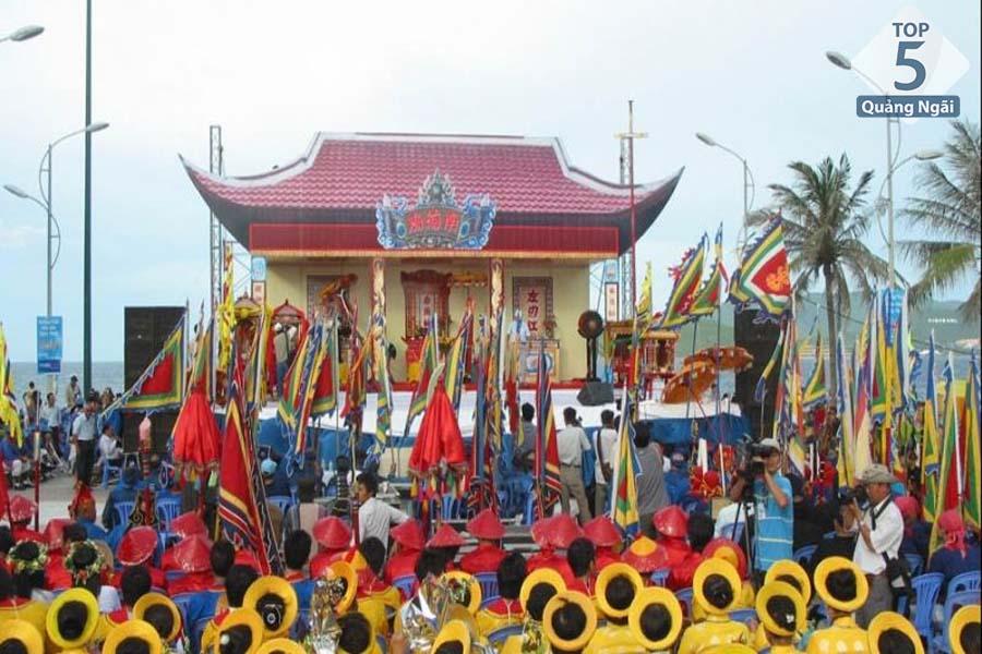 địa điểm du lịch Quảng Ngãi-Linh thiêng lễ hội cầu Ngư của cư dân Sa Huỳnh