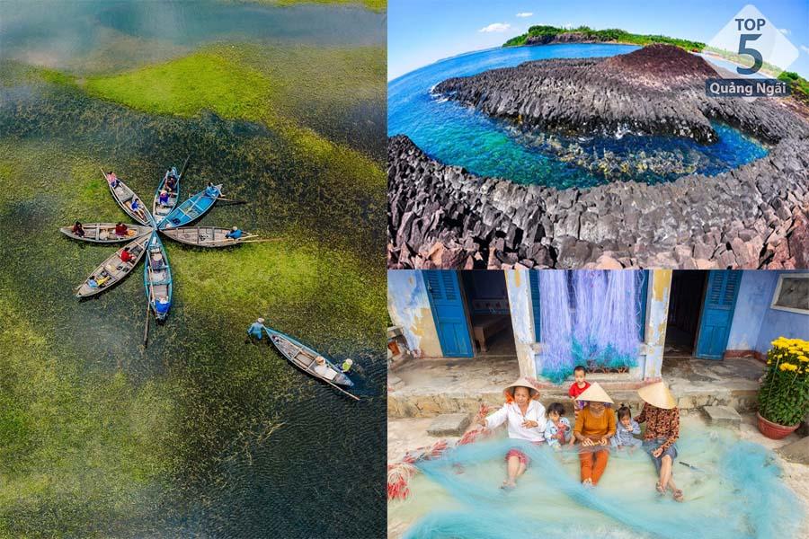 các địa điểm du lịch ở Quảng Ngãi-Vẻ đẹp hiếm có tại Làng Gò Cỏ Quảng Ngãi