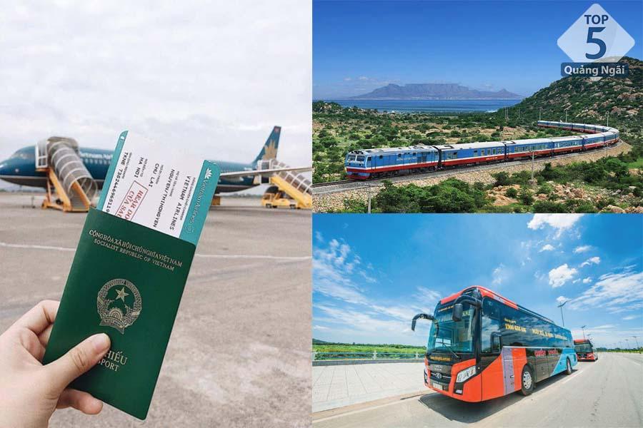 Các phương tiện di chuyển đến Chu Lai Quảng Ngãi