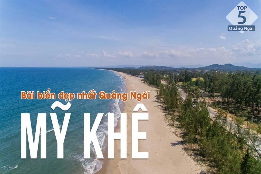 Mỹ Khê - Bãi biển được bình chọn đẹp nhất Quảng Ngãi