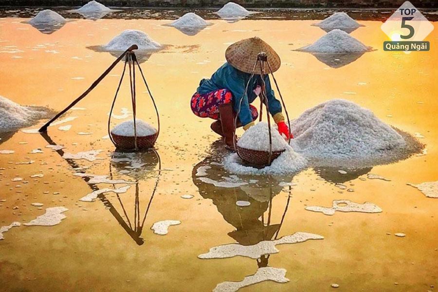 Cánh đồng muối Sa Huỳnh
